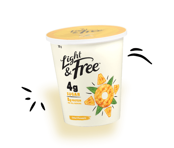 yogurt protein pack pineapple