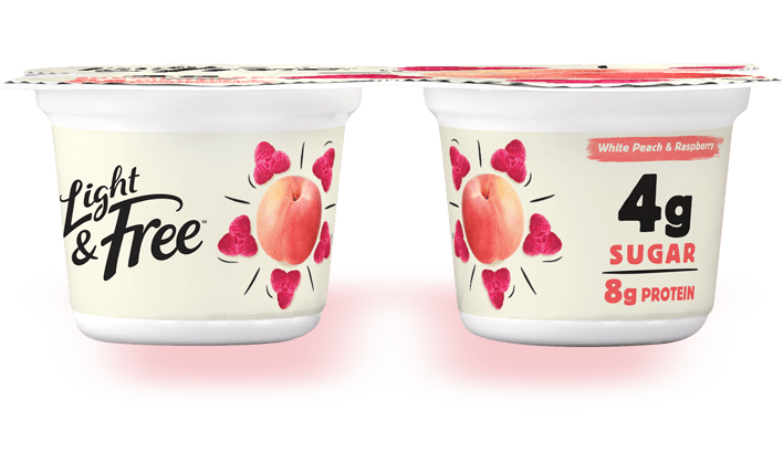 peach yogurt pack